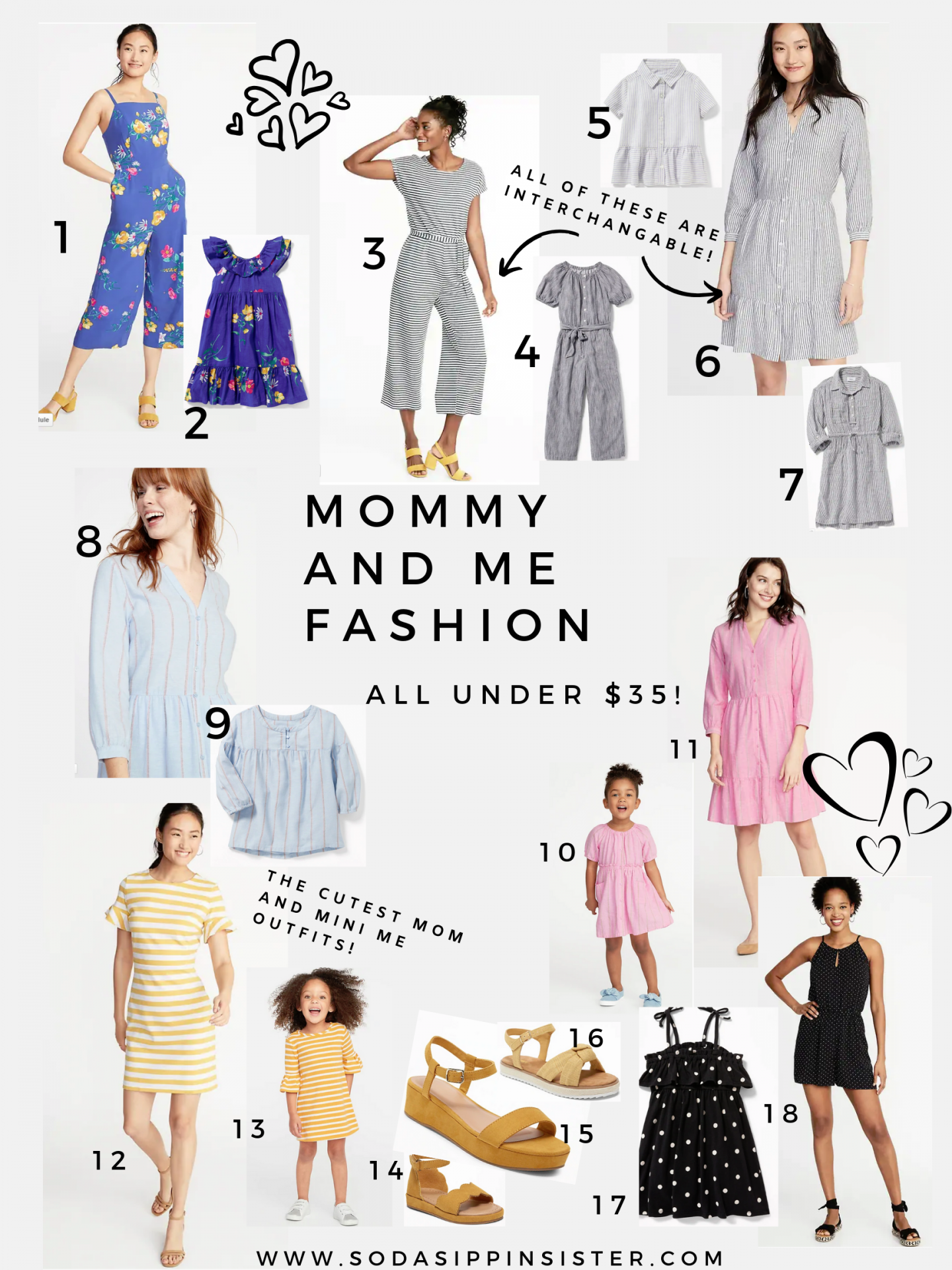 Mommy and Me Outfits For Great Prices